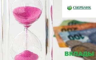 Сбербанк вклады: выгода, расчет дохода по вкладу, условия. Как открыть вклад в Сбербанке