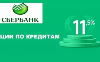 Сбербанк акции по кредитам — предложения, условия, оформление