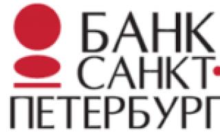 Банк Санкт-Петербург — сайт, контакты, горячая линия и основные услуги