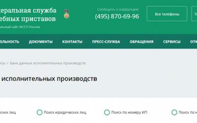 Как проверить долги у судебных приставов через ГосУслуги, сайт Госавтоинспекции, Федеральную службу судебных приставов