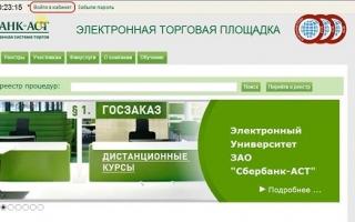 АСТ Сбербанк электронная площадка: принципы работы, получение ЭЦП и аккредитации