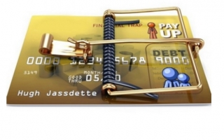 Задолженность по закрытой карте банка