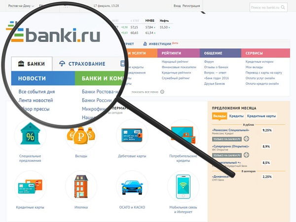 банки ру сайт